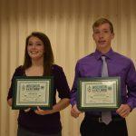 Two of the WI 4-H Key Award recipients, Emma Meyer & Dylon Pokorny